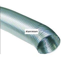 Abluftschlauch ALU 125 mm Ø, 5 m lang